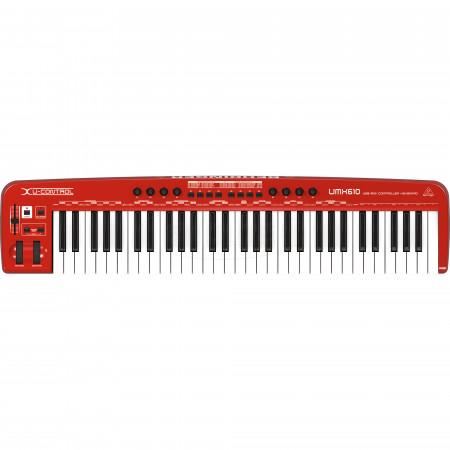 Behringer U-CONTROL UMX610 Keyboard MIDI Controller