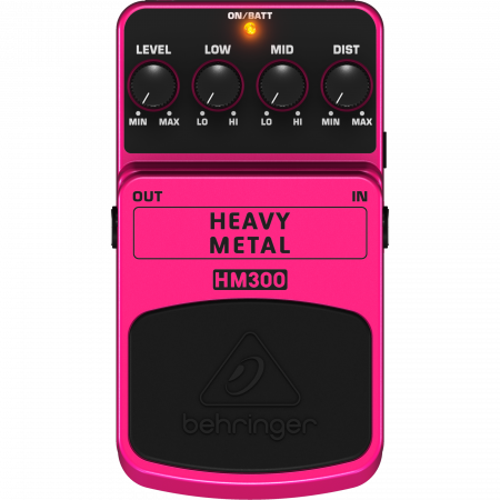 Behringer HEAVY METAL HM300 Effect Pedal