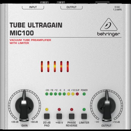 Behringer MIC100 High End Vacuum Tube Preamplifier