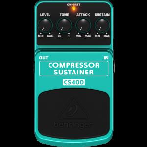 Behringer CS400 Compressor/Sustainer Effects Pedal