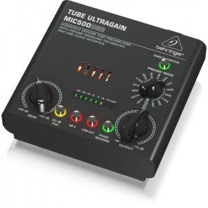 Behringer Tube Ultragain MIC500USB Audiophile Preamplifier