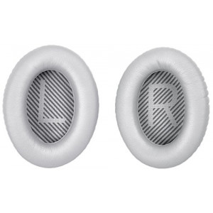 Náhradní náušníky BOSE QuietComfort 35 - stříbrné